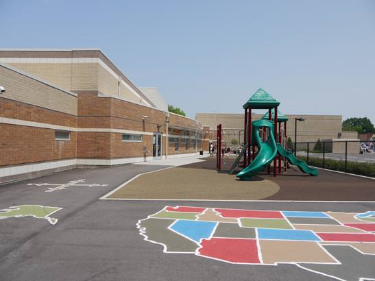 playground at North Avondale Montessori